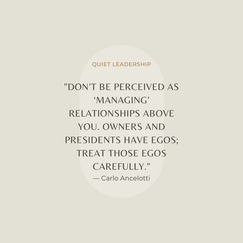 Quiet Leadership Book Summary Winning Hearts, Minds & Matches Quote 1