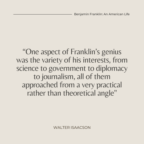 Quotes From The Book Benjamin Franklin Biography Book Summary An American Life Image 2