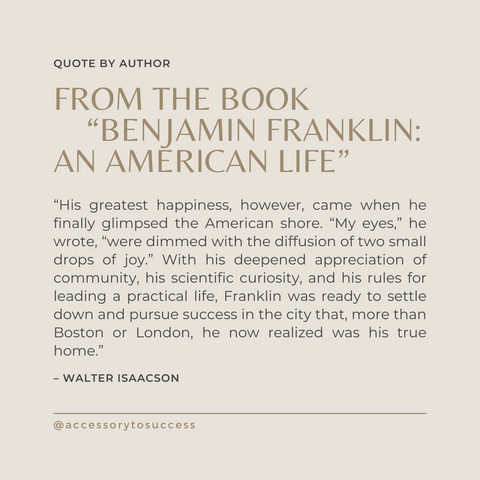 Quotes From The Book Benjamin Franklin Biography Book Summary An American Life Image 1