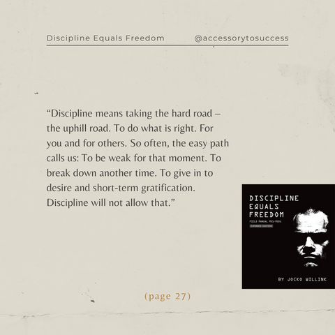 Quotes From The Book Discipline Equals Freedom Image 2
