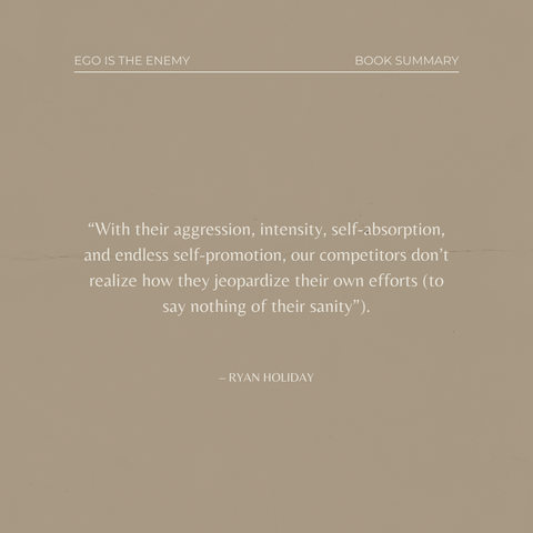 Quotes From The Book Ego is the Enemy Image 2