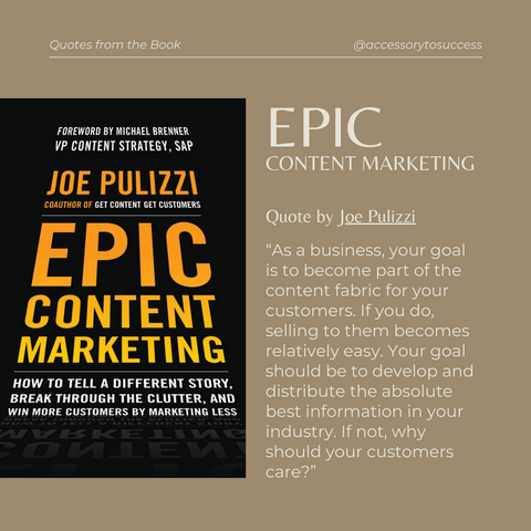 Quotes From The Book Epic Content Marketing Image 2