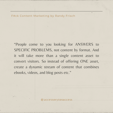 Quotes From The Book F_ck Content Marketing Image 1