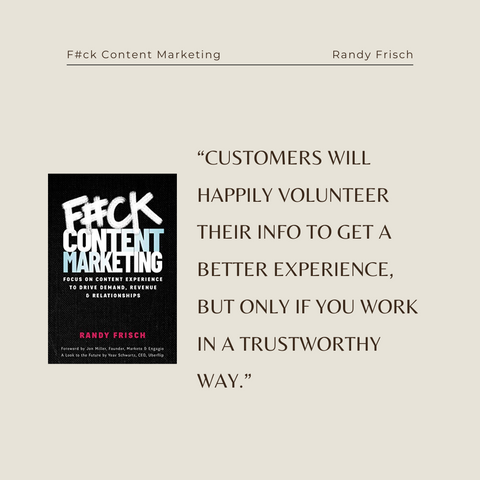 Quotes From The Book F_ck Content Marketing Image 3