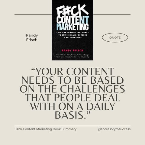 Quotes From The Book F_ck Content Marketing Image 4