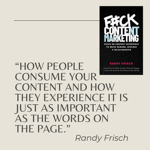 Quotes From The Book F_ck Content Marketing Image 5