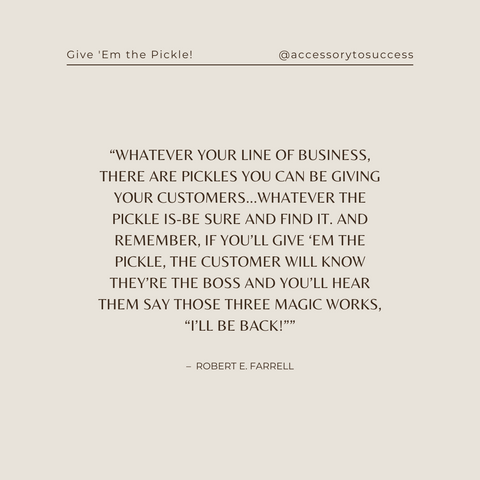 Quotes From The Book Give 'em the Pickle! Image 5