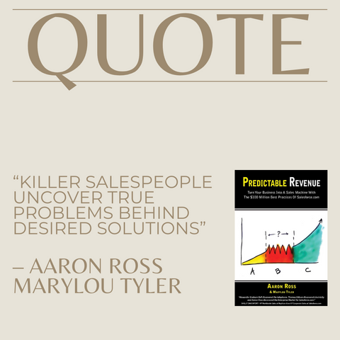 Quotes From The Book Predictable Revenue Image 2