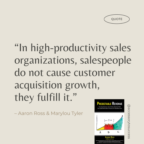 Quotes From The Book Predictable Revenue Image 3