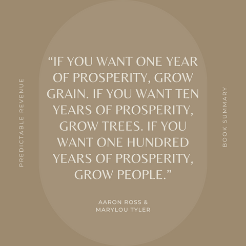 Quotes From The Book Predictable Revenue Image 5