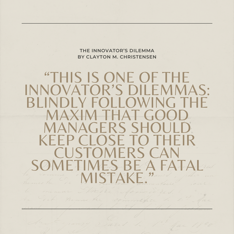 Quotes From The Book The Innovator's Dilemma Image 2