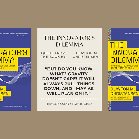 Quotes From The Book The Innovator's Dilemma Image 3