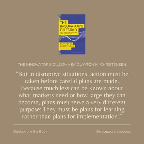 Quotes From The Book The Innovator's Dilemma Image 5