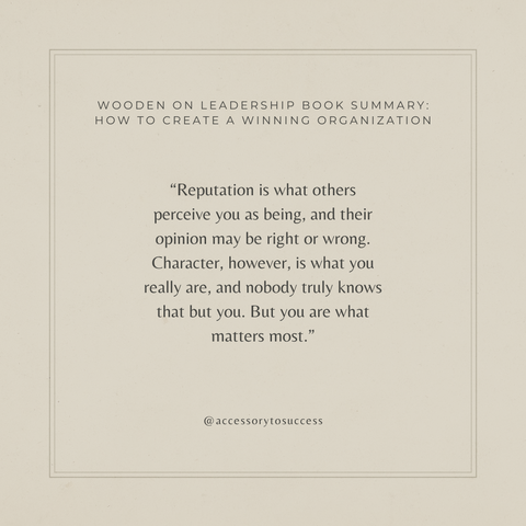 Quotes From The Book Wooden On Leadership Image 2