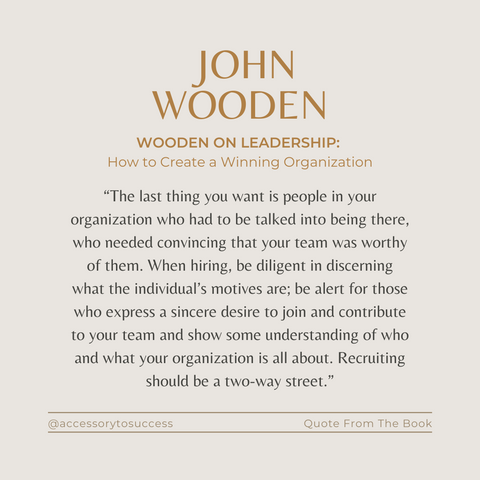 Quotes From The Book Wooden On Leadership Image 4