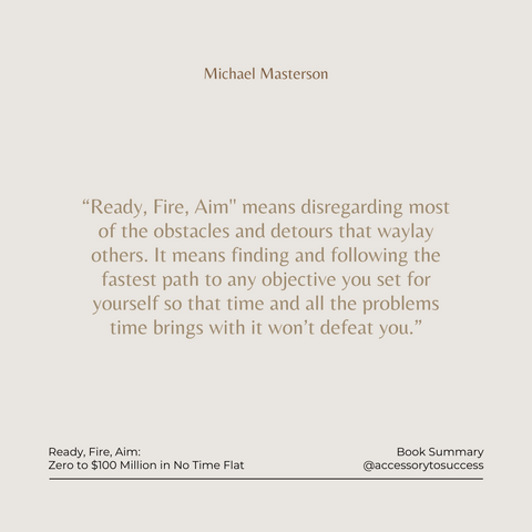 Quotes From the Book Ready Fire Aim Image 2