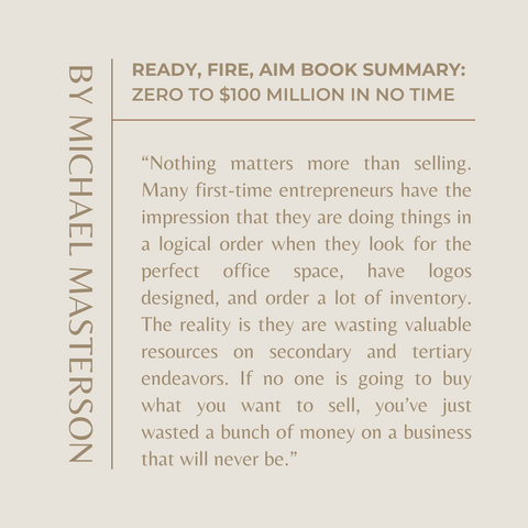 Quotes From the Book Ready Fire Aim Image 5