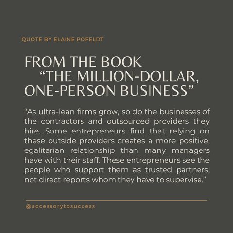 Quotes From the Book The Million Dollar One-Person Business Image 1