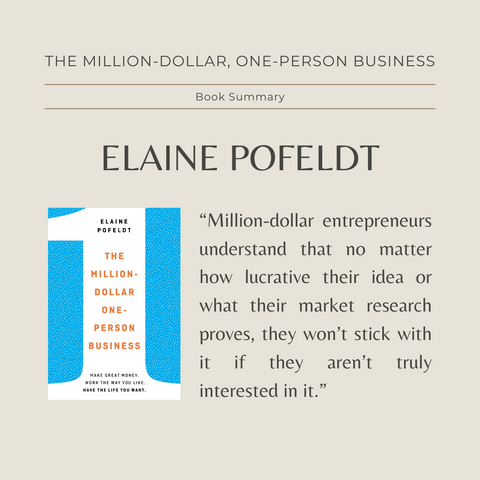 Quotes From the Book The Million Dollar One-Person Business Image 2