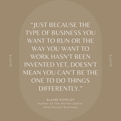 Quotes From the Book The Million Dollar One-Person Business Image 4