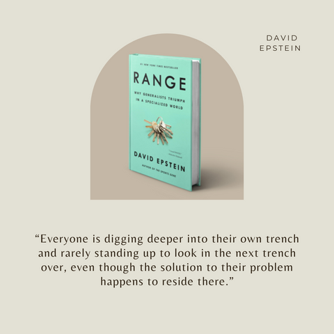 Range Book Summary Why Generalists Triumph in a Specialized World Quote 3