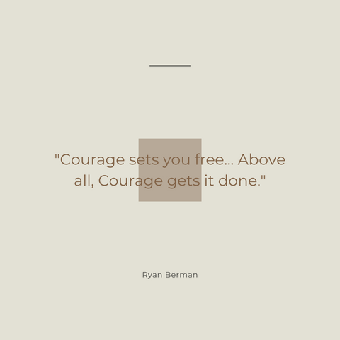 Return On Courage Book Summary A Business Playbook for Courageous Change Quote 2