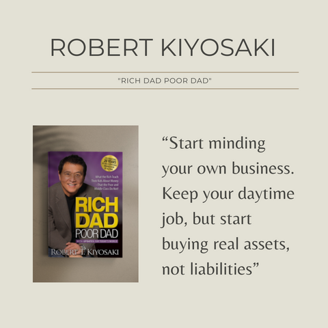 Rich Dad Poor Dad Book Summary What the Rich Teach Their Kids About Money That the Poor and Middle Class Do Not! Quote 1