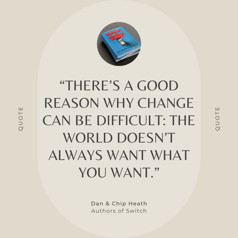 Switch Book Summary quote 4
