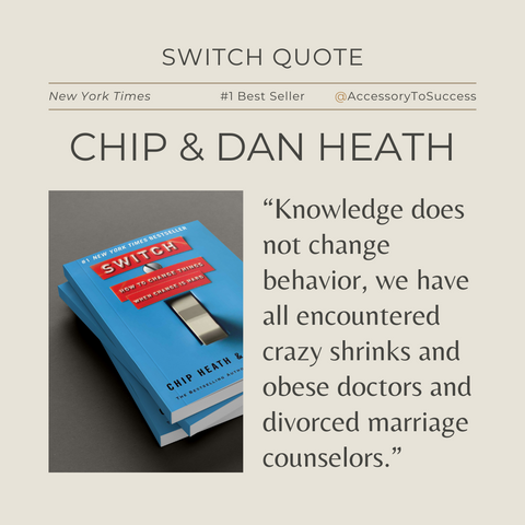 Switch Book Summary Quote