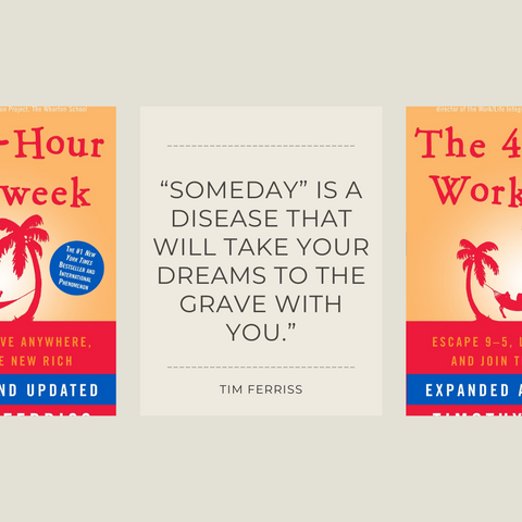 The 4-Hour Workweek Book Summary Escape 9-5, Live Anywhere, and Join the New Rich Quote 1