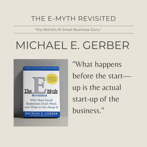 The E-Myth Revisited Book Summary Why Most Small Businesses Don't Work And What To Do About It Quote 1