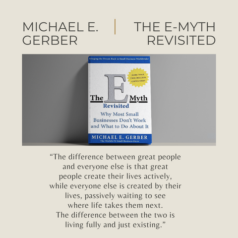 The E-Myth Revisited Book Summary Why Most Small Businesses Don't Work And What To Do About It Quote 4