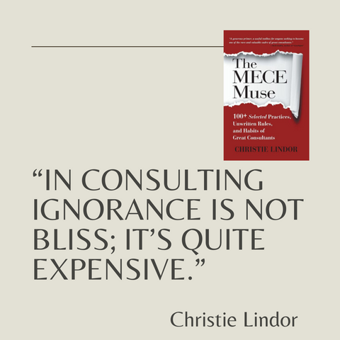 The MECE Muse Book Summary 100+ Selected Practices, Unwritten Rules, and Habits of Great Consultants Quote 1
