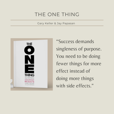 The One Thing The Surprisingly Simple Truth Behind Extraordinary Results Quote 4