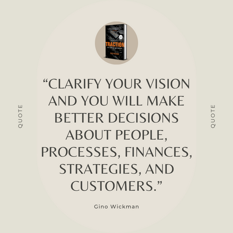 Traction Book Summary Get a Grip on Your Business Quote 2