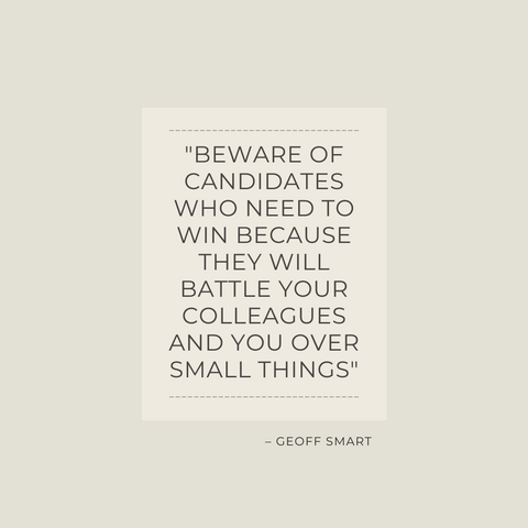 WHO Book Summary The A Method for Hiring by Geoff Smart & Randy Street Quote 3