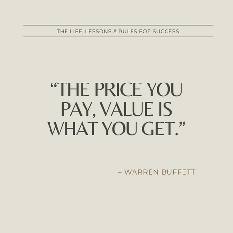 Warren Buffett Book Summary Life, Lessons and Rules for Success Quote 4