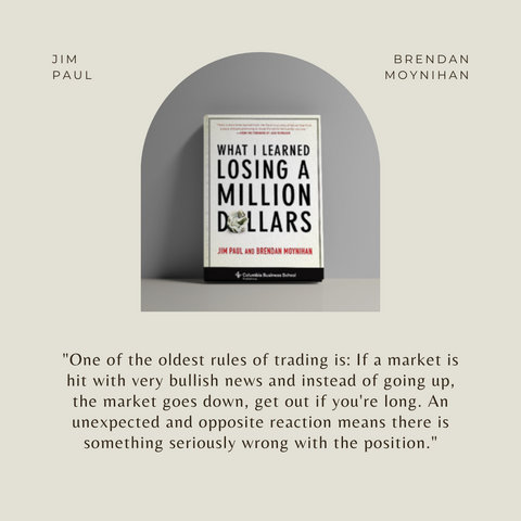 What I Learned Losing A Million Dollars Book Summary Quote 2