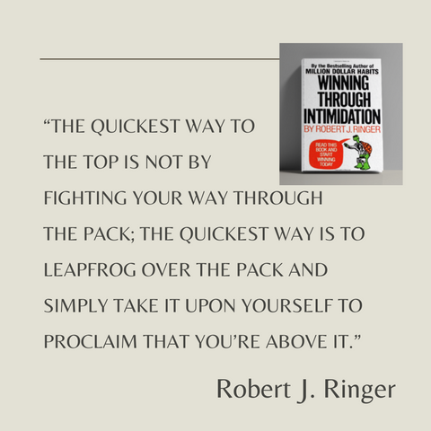 Winning Through Intimidation Book Summary How to Be the Victor, Not the Victim, in Business and in Life Quote 3