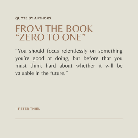 Zero To One Book Summary Notes on Startups, or How to Build the Future Quote 3