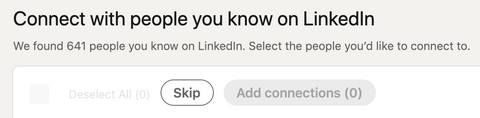 people that currently have a LinkedIn account