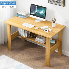 Load image into Gallery viewer, Wooden Computer Desk Minimalist Bedroom Student Dormitory Learning Table Single Writing Desk Standing Home Office Furniture