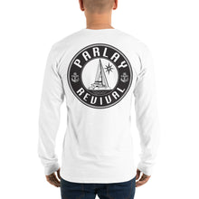 Load image into Gallery viewer, Parlay Revival Long Sleeve T-Shirt Black Logo