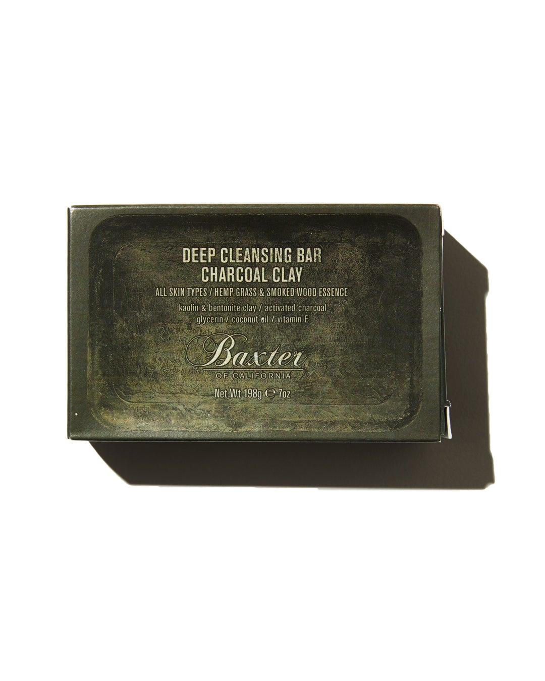 Baxter of California | Deep Cleansing Soap Bar | Charcoal Clay