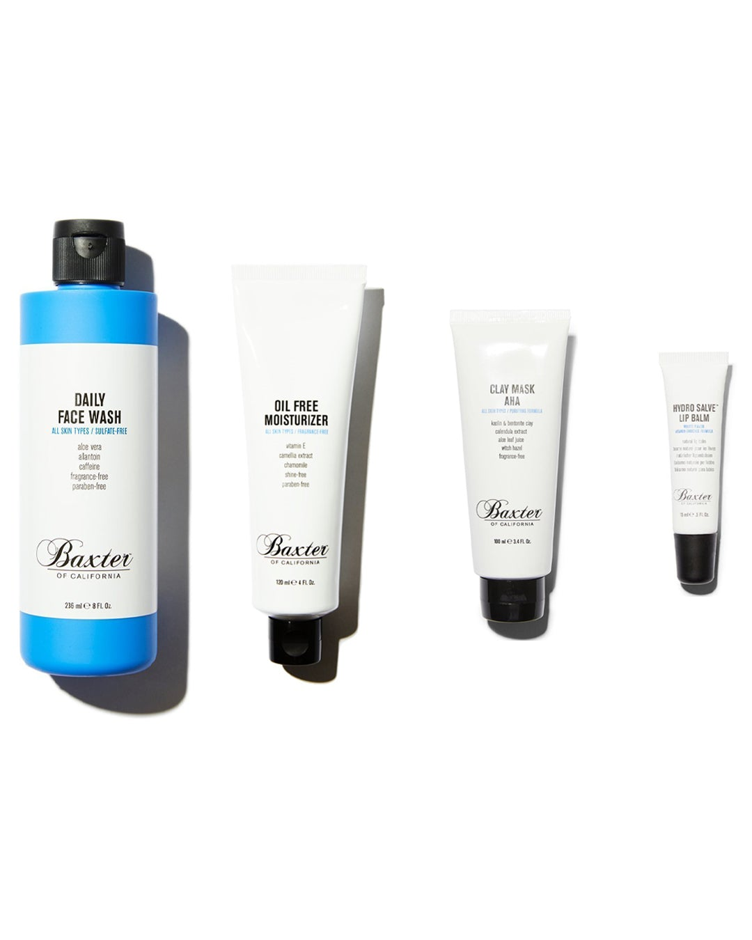 Baxter of California Skincare Essentials