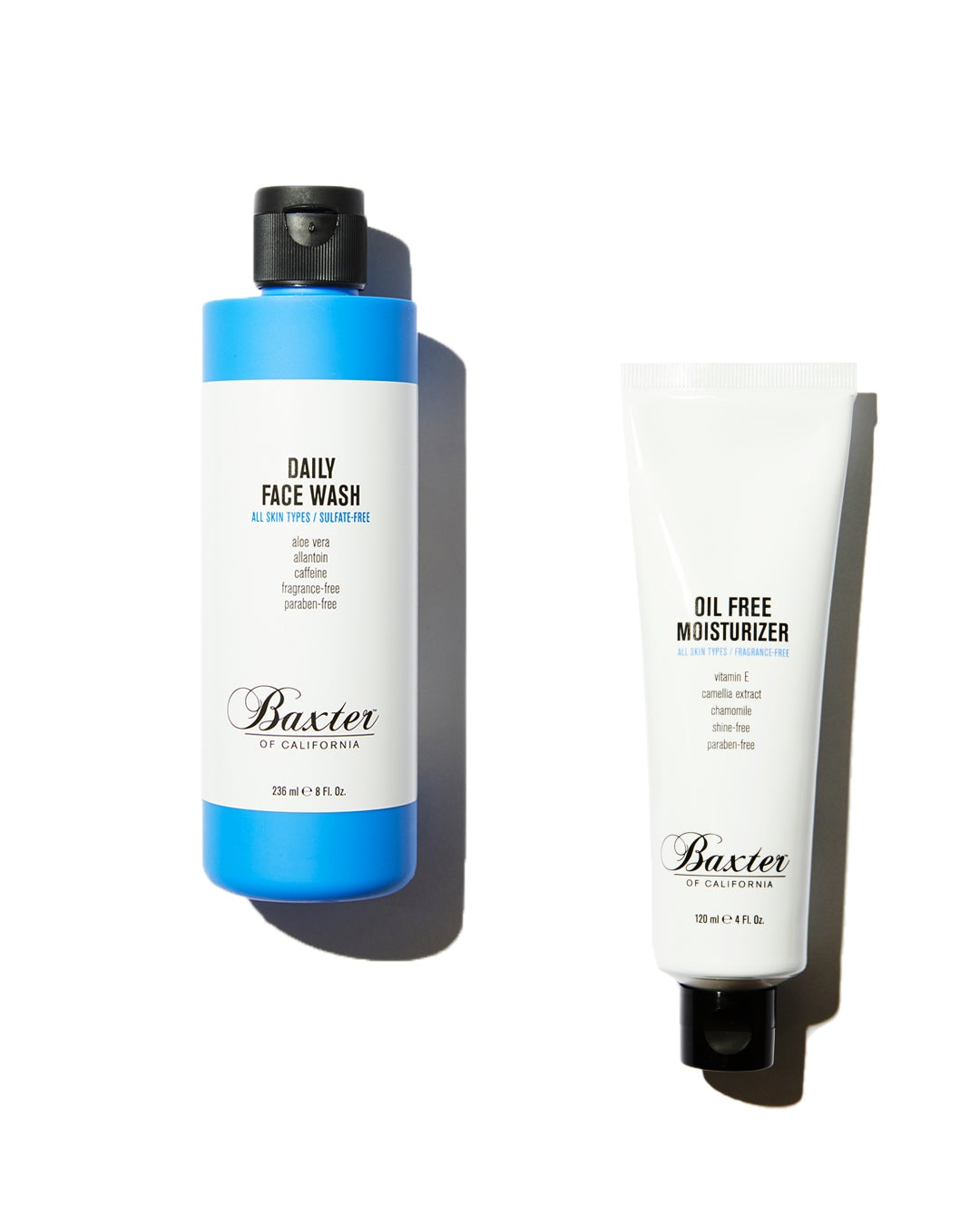 Baxter of California | Face Wash & Moisturiser Set