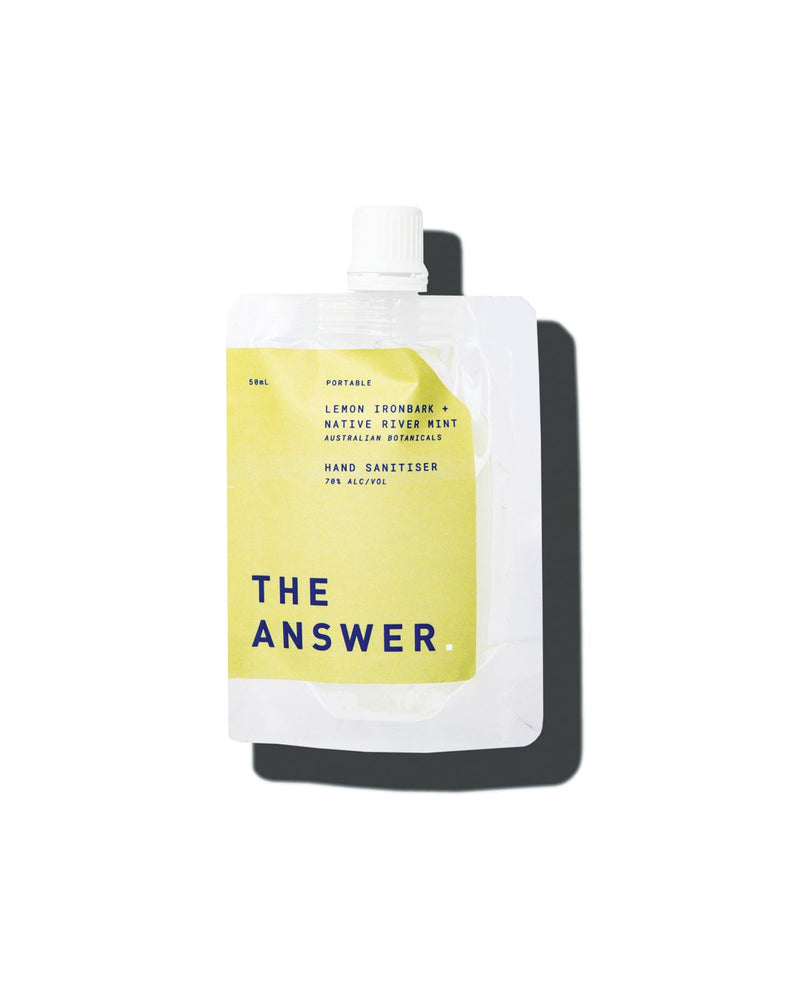 The Answer | Australian Hand Sanitiser