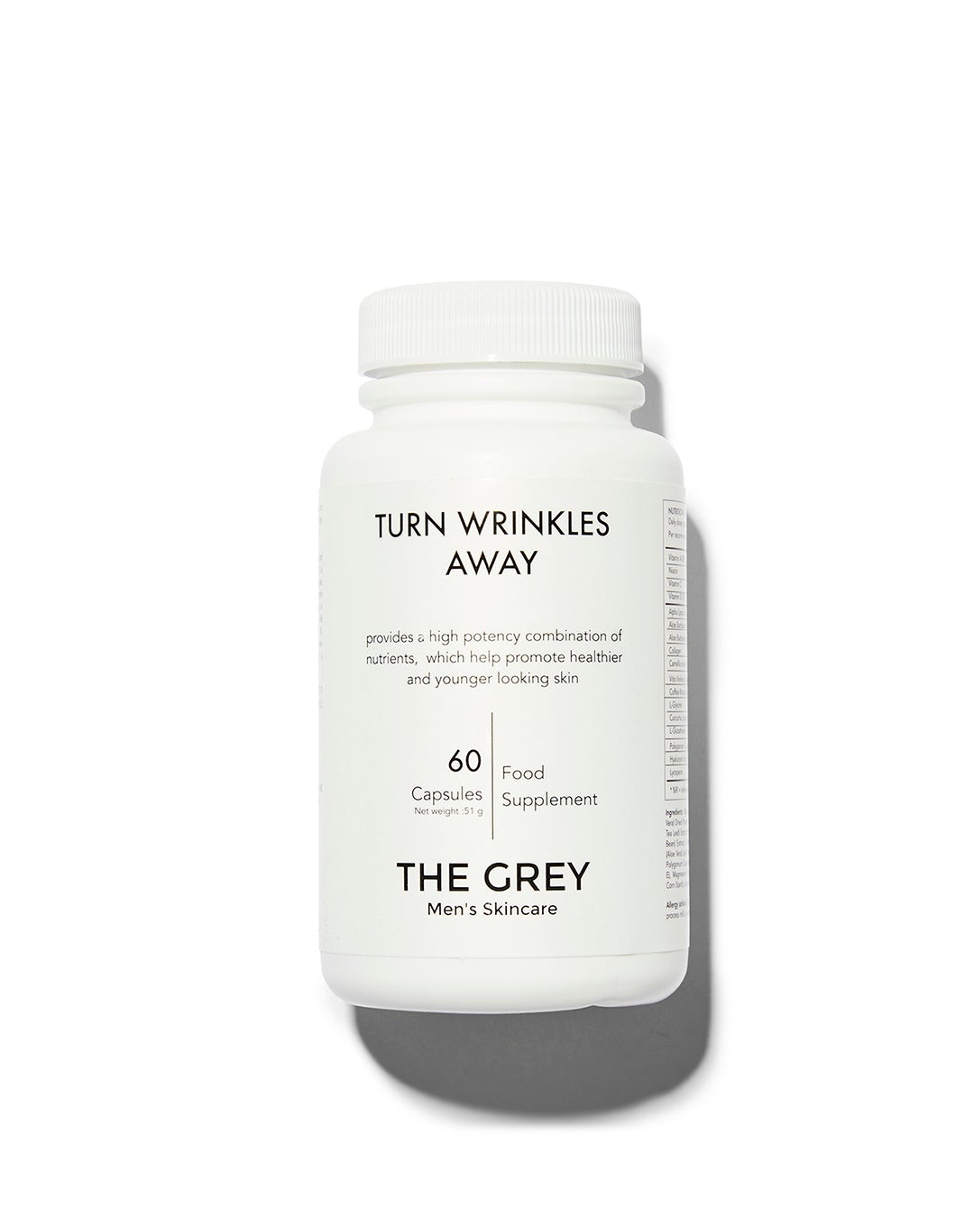 The Grey | Turn Wrinkles Away Supplements