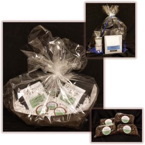 Coffee Gift Baskets, Coffee Stocking Stuffers, Coffee Corporate Gifts