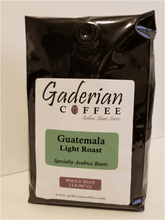 Load image into Gallery viewer, 32 oz bag Gaderian Coffee Light Roast Specialty Whole Bean